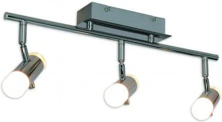 Plafoniera LED moderna cu 3 spoturi directionabile Garda