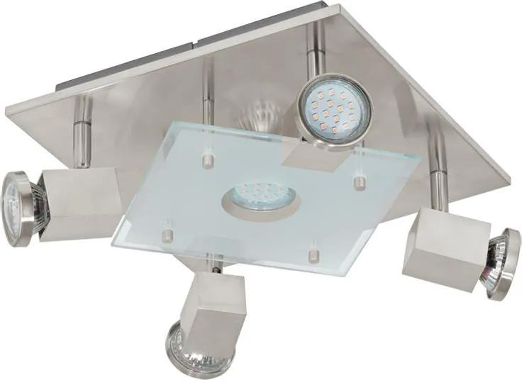 Eglo 93084 - LED Plafoniera PAWEDO 5xGU10-LED/3W/230V