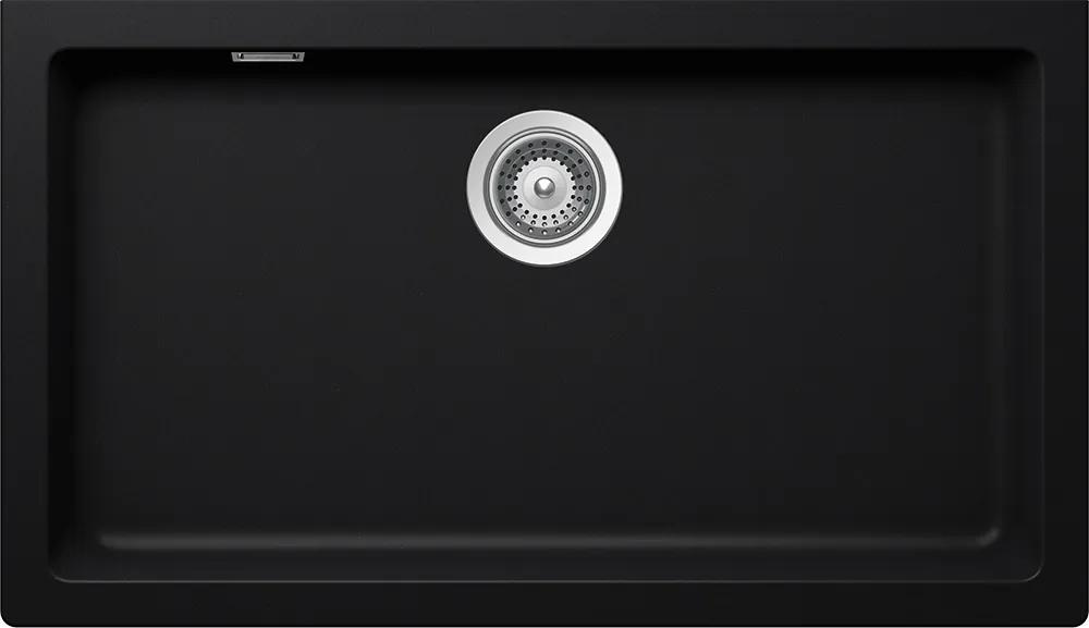 Chiuveta Granit Schock Signus N-100XLY Puro Cristadur 790 x 454 mm