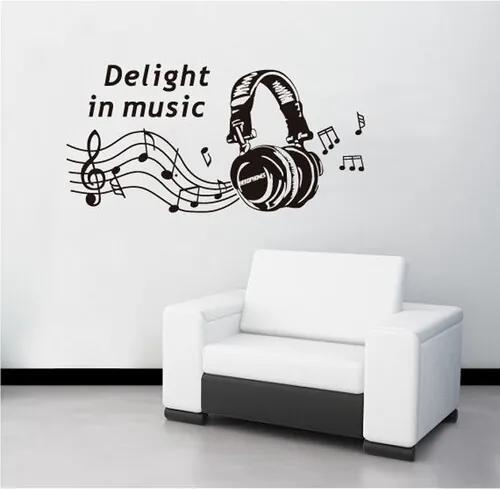 Decoraţiune autoadezivă Delight in music