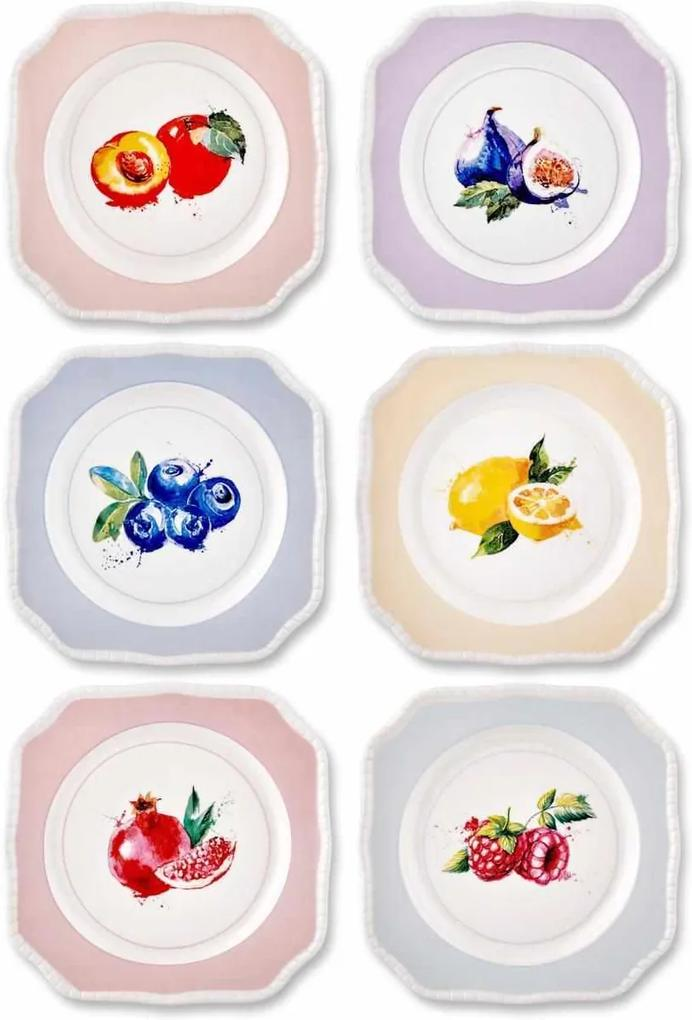 Set Farfurii Frutta 18 cm - 6 Piese