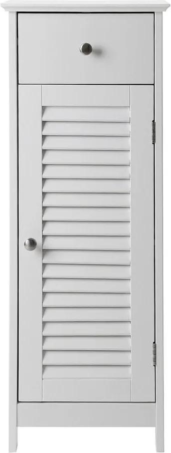 Dulap de baie cu sertar Songmics, înălțime 89 cm, alb