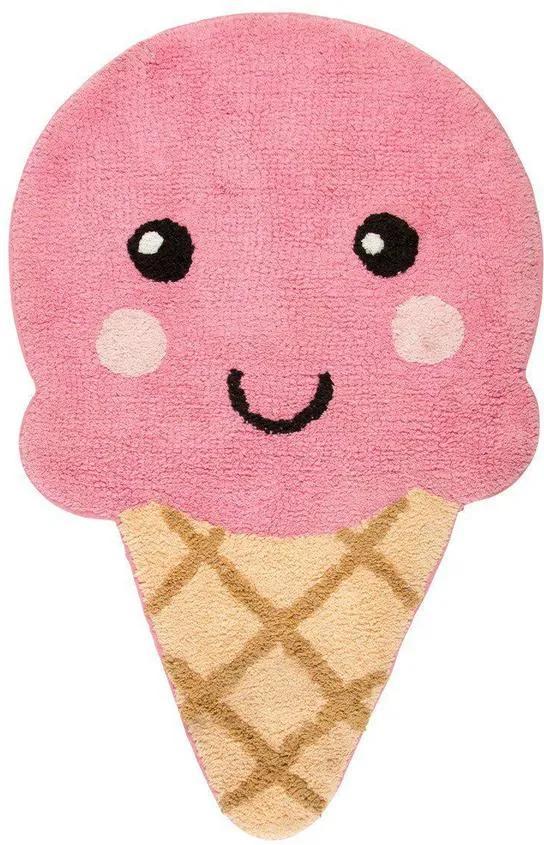 Covoraș decorativ Happy Ice Cream, bumbac