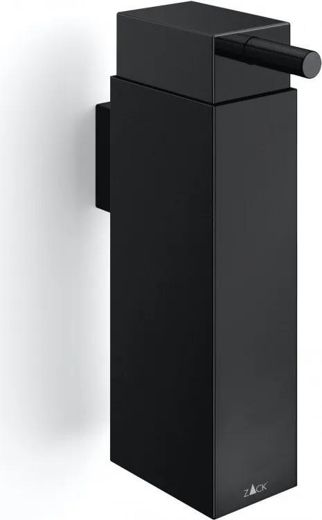 Dozator de perete pentru săpun lichid LINEA, culoare neagră - ZACK