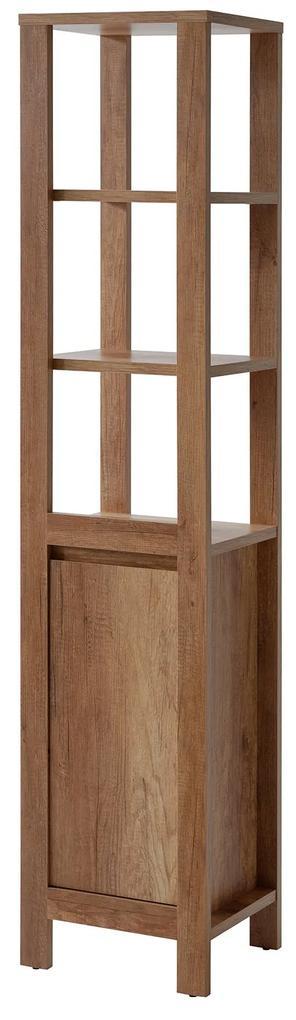 Dulap inalt cu 1 usa Clasico Oak Maro, 35 cm, 40 cm, 185 cm