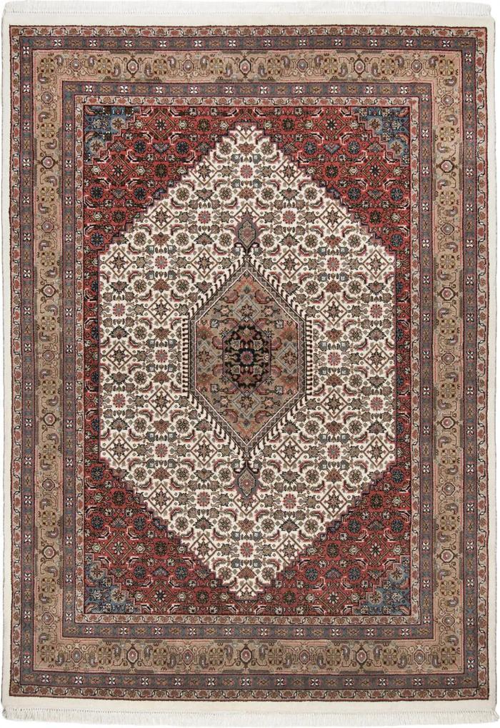 Covor Oriental & Clasic Benares, Crem/Maro, 70x140 cm