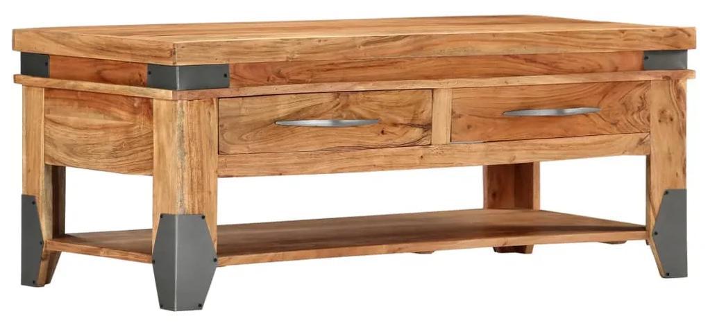 282751 vidaXL Măsuță de cafea, 110x55x45 cm, lemn masiv de acacia