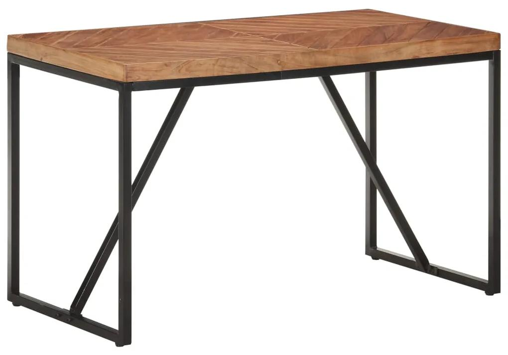 323546 vidaXL Masă de bucătărie 120x60x76 cm lemn masiv de acacia/mango