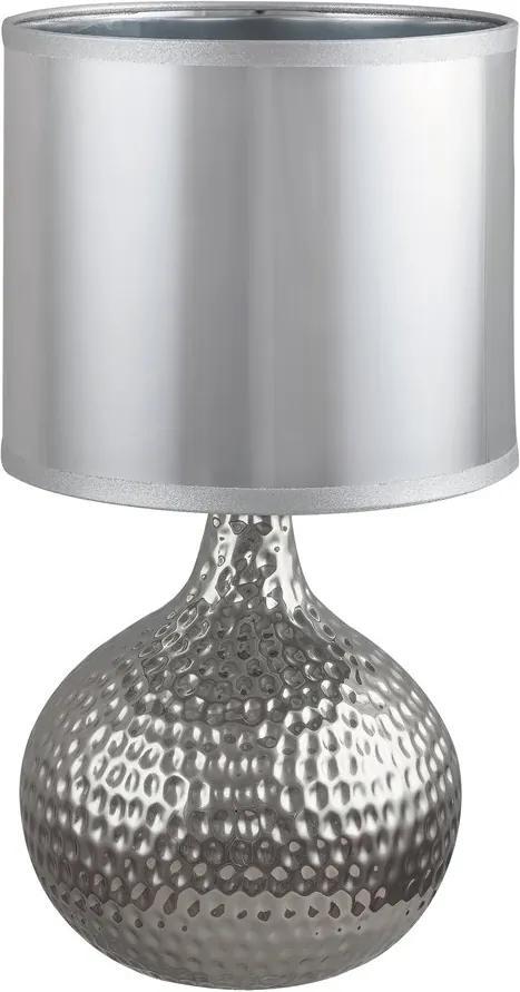 Rábalux 4978 Lampa de masa de noapte Rozin crom ceramică E14 1x Max 40W IP20