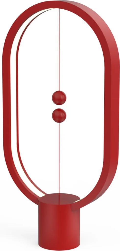 Veioză Heng Balance, cablu detaşabil USB-C - Roșu