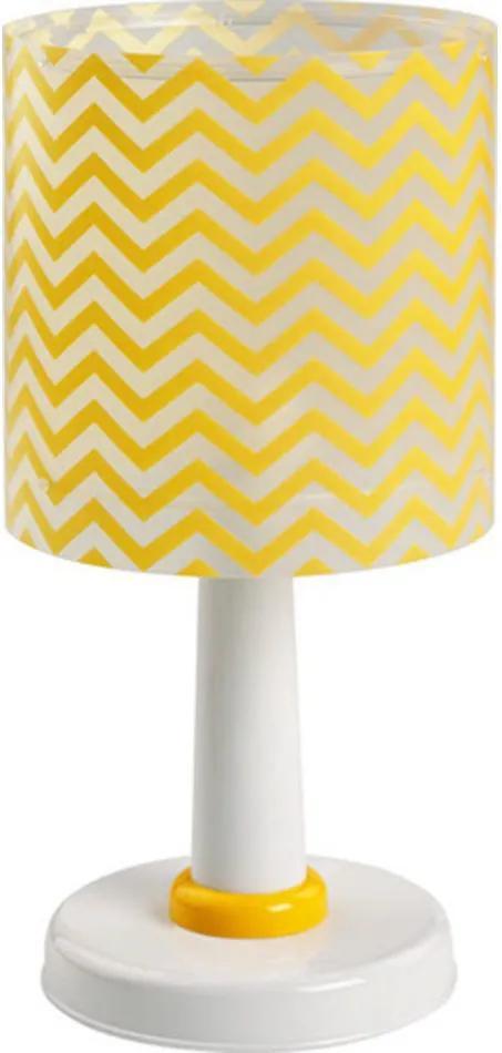 Dalber Fun 42661 Lampă de masă pentru copii alb galben 1 x E14 max. 40W 30 x 15 x 15 cm