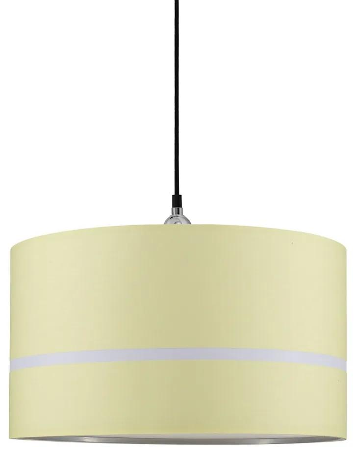 Paulmann 95365 - Lustră pe cablu TESSA 1xE27/20W/230V galben