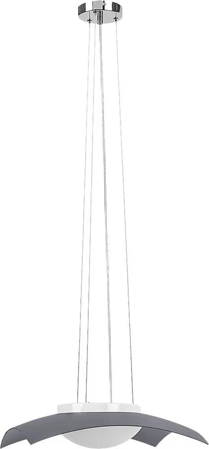 Rábalux Tia 4618 Pendul cu 1 braț crom alb LED 12W 400 x 400 mm