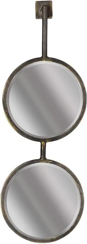 Oglindă dublă de perete BePureHome Chain, lungime 58 cm