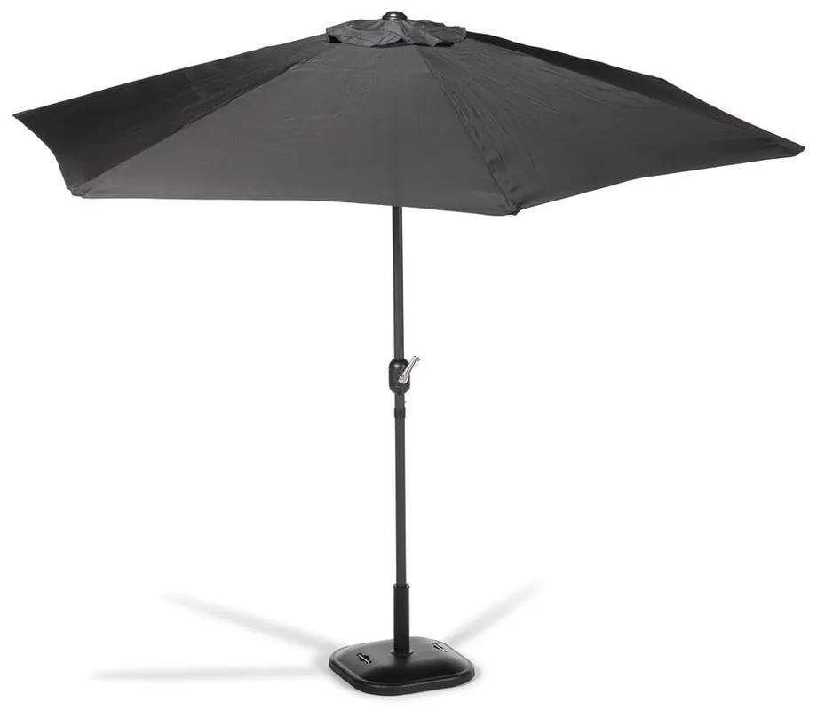 Umbrelă de soare Le Bonom Sun, ø 300 cm, negru