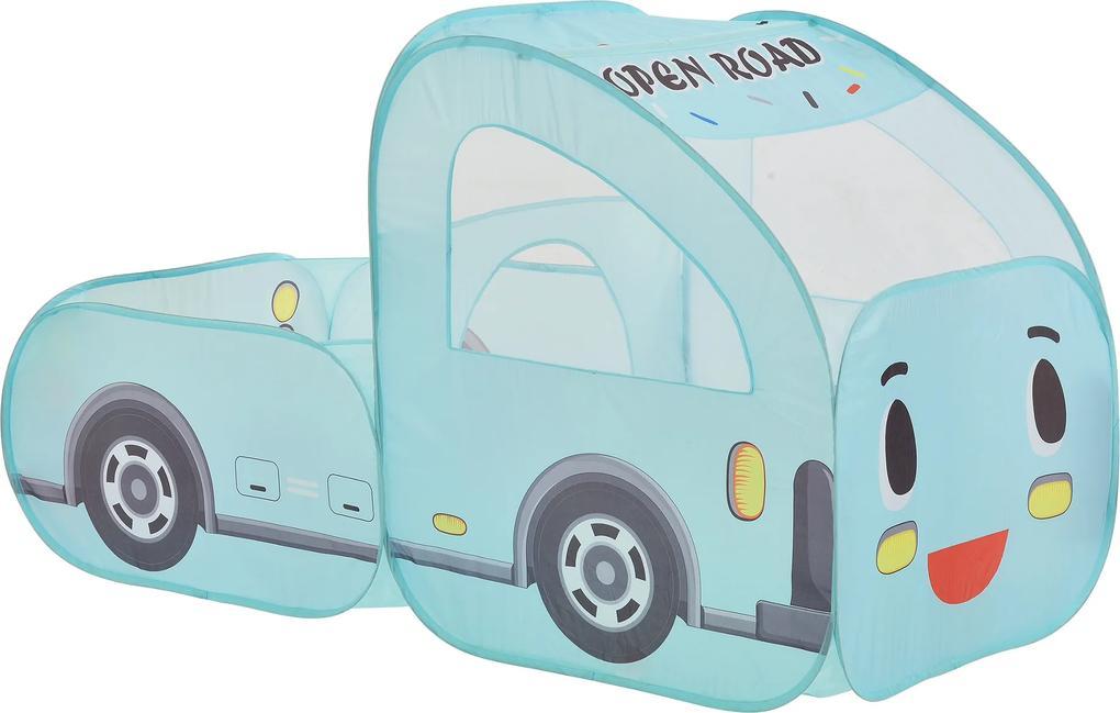 [casa.pro]® Cort pentru copii motiv Camion - 90 x 158 x 80 cm - poliester/drot sarma