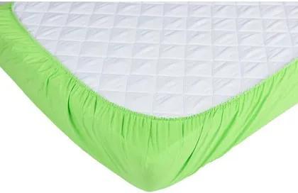 Cearceaf cu elastic pentru patut 140x70 cm verde