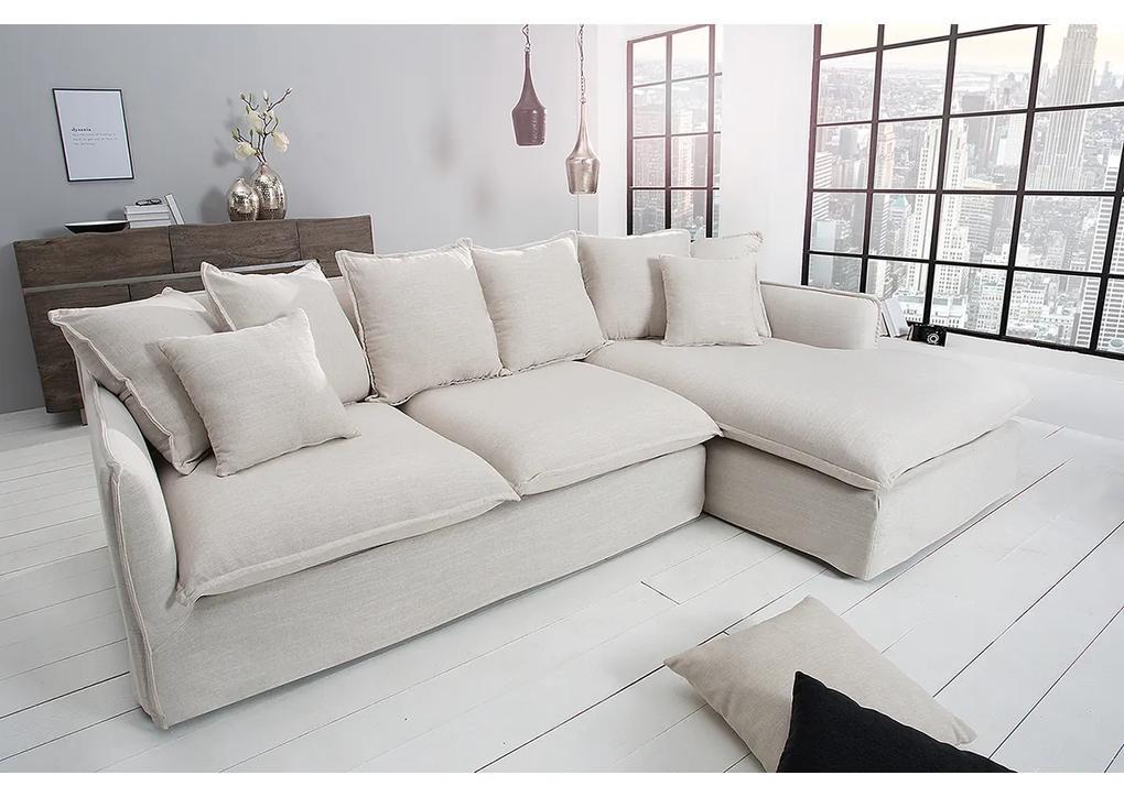 Canapea cu sezlong dreapta Heaven