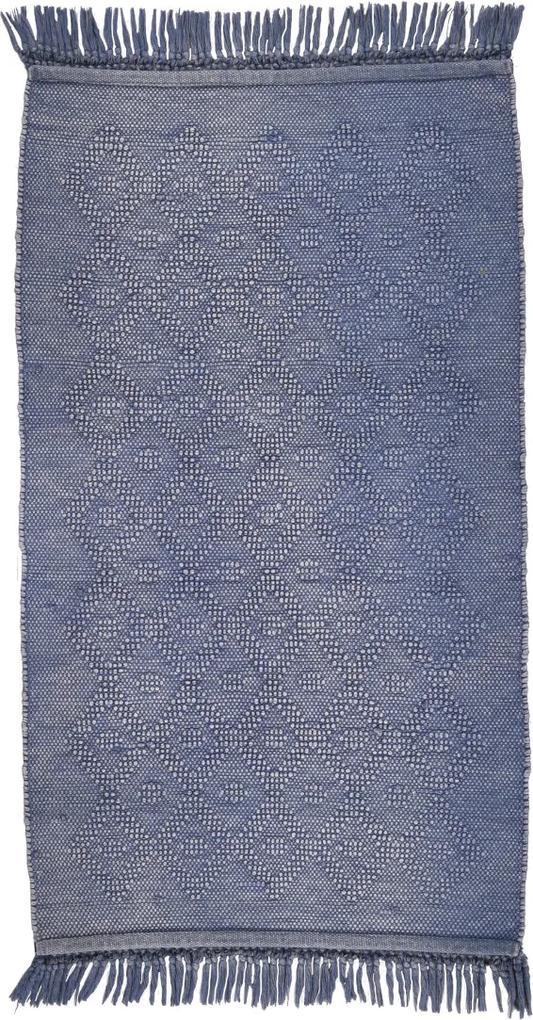 Covor Oriental & Clasic Vintage Wash, Albastru, 70x160 cm
