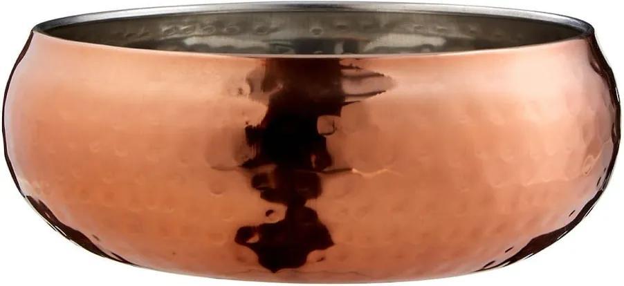 Bol decorativ Premier Housewares Hammered, ⌀ 12 cm, auriu - roz