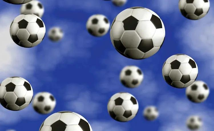Football Soccer Fototapet, (312 x 219 cm)