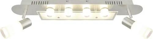 Plafoniera cu LED integrat Turais (2+4)x3,7W 2100 lumeni, satinata