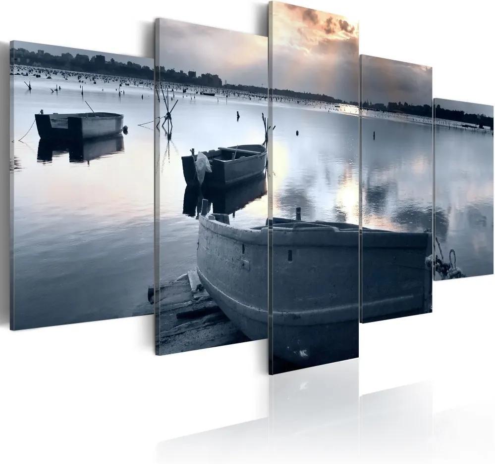 Tablou - Tichý přístav 100x50 cm