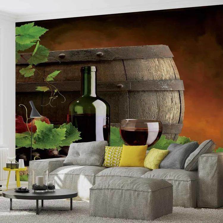 Wine Fototapet, (312 x 219 cm)