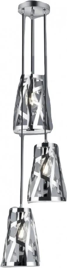 Trio CARLITO R30503306 Pendule cu mai multe brate crom metal excl. 3 x E27 IP20