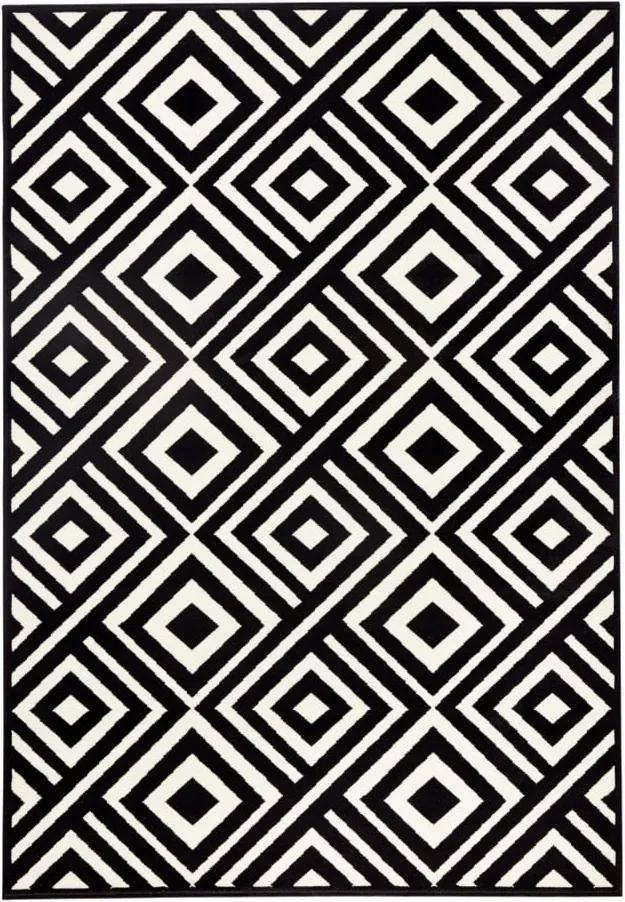 Covor Zala Living Art, 160 x 230 cm, negru - crem