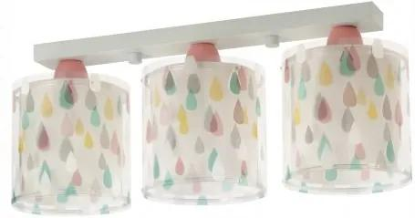 Lustra aplicata camera copii Color Rain