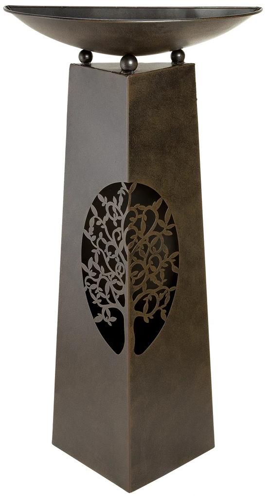 Suport flori TREE, metal, 102x25x50 cm