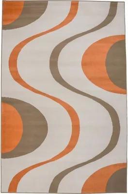 Covor Geolines bej-portocaliu 60x110 cm