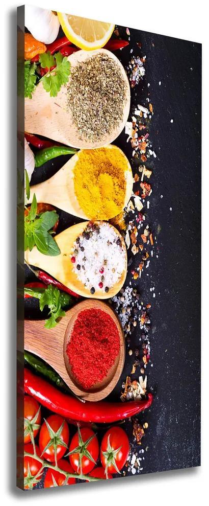 Print pe canvas Condimente