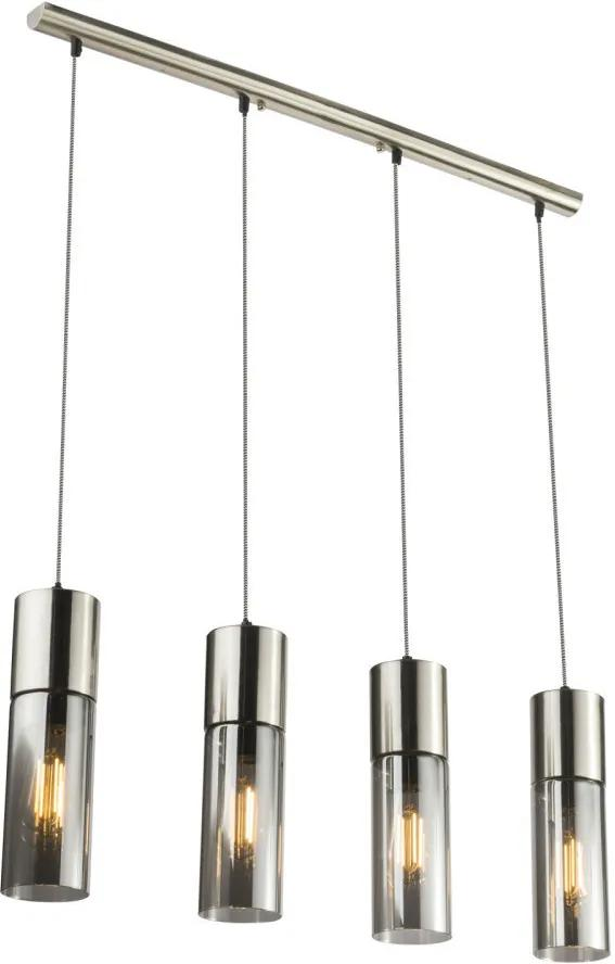 Globo 21000-4HN Lampi de sufragerie ANNIKA nichel metal 4 x E27 max. 25W IP20