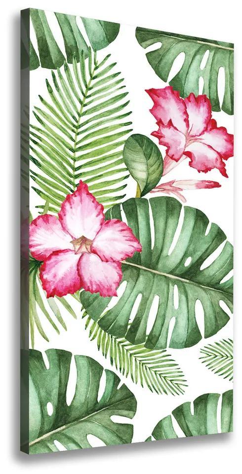 Imprimare tablou canvas Model Hawaii