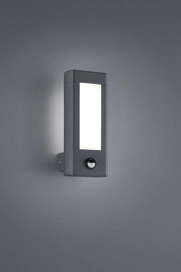Trio 221669242 Aplice pentru iluminat exterior RHINE antracit aluminiu incl. 2 x SMD, 4,5W, 3000K, 450Lm 450lm 3000K IP54 A+