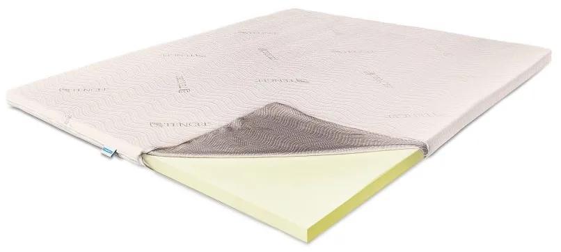 Topper Saltea Memory 5 cm Tencel, 100 x 200 cm