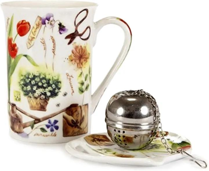 Set de ceai 3 buc. Banquet Garden