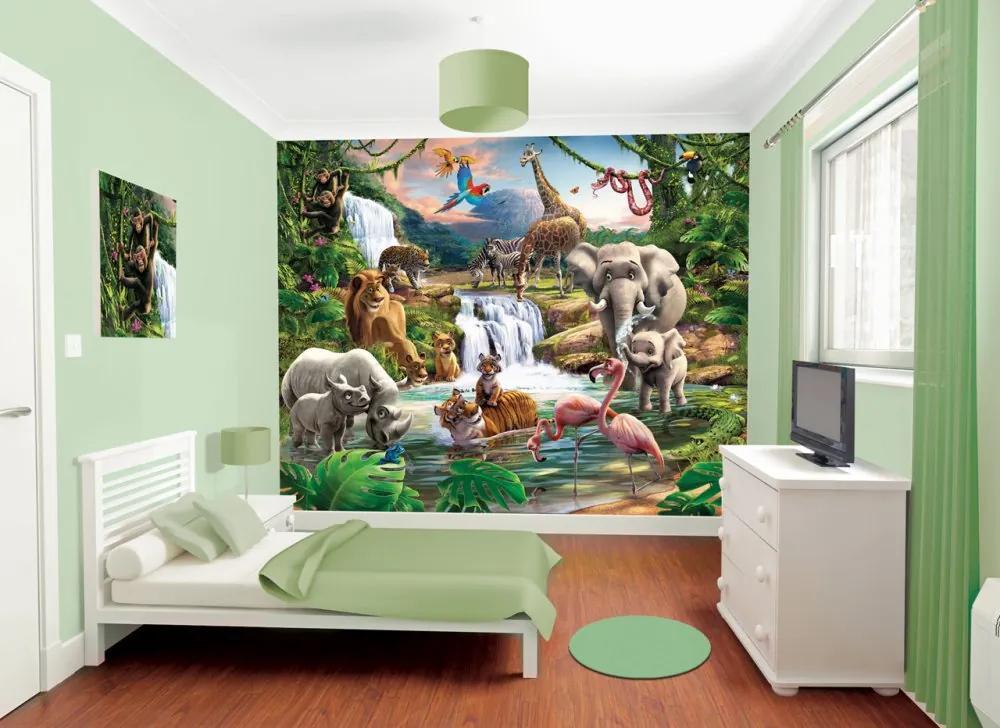 Walltastic Džungle - fototapet pe perete 305x244 cm