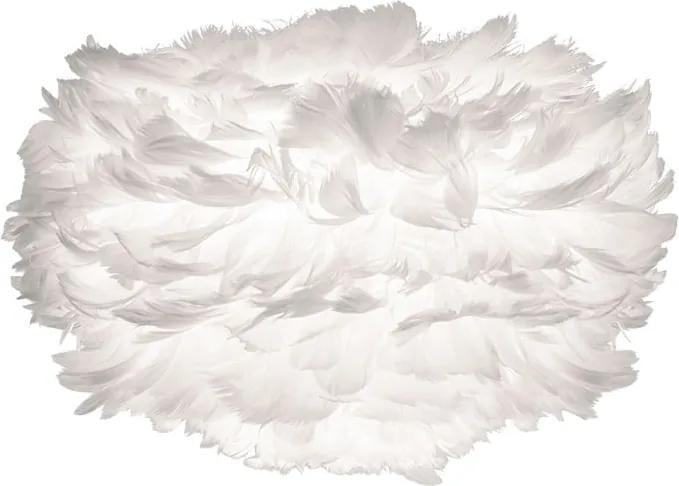 Abajur cu pene de gâscă VITA Copenhagen EOS, Ø 22 cm, alb