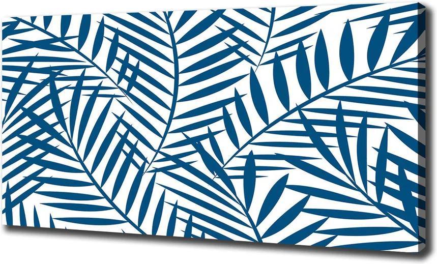 Pictură pe pânză Frunze de palmier
