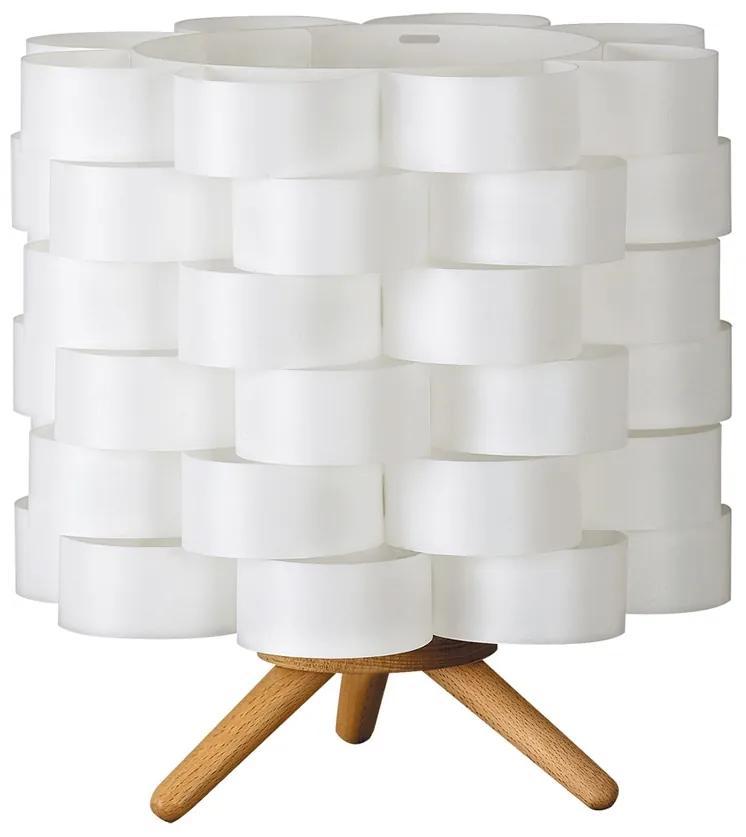 Rabalux 4346 - Lampă de masă ANDY 1xE14/40W/230V alb