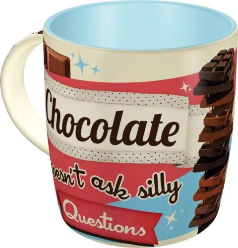 Nostalgic Art Cană - Chocolate Doesn't Ask