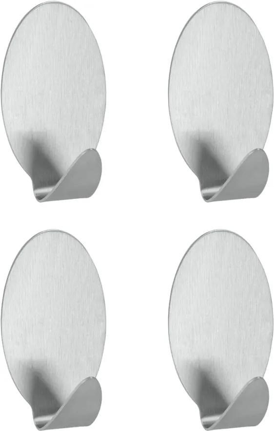Set 4 cârlige autoadezive Metaltex Bob