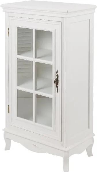 Dulap cu usa sticla Elegance, MDF, 101x52x30 cm