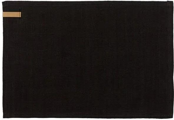 Suport de Farfurie din Bumbac - Bumbac Gri inchis Lungime 45cm x latime 35 cm