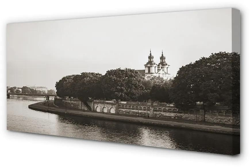 Tablouri canvas Tablouri canvas pod Cracovia Râul