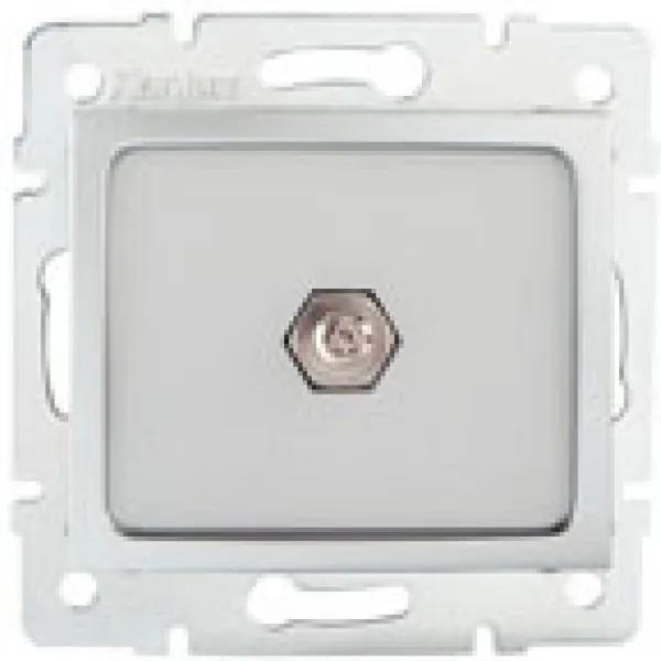 Kanlux 24879 Conector priză Domo argintiu