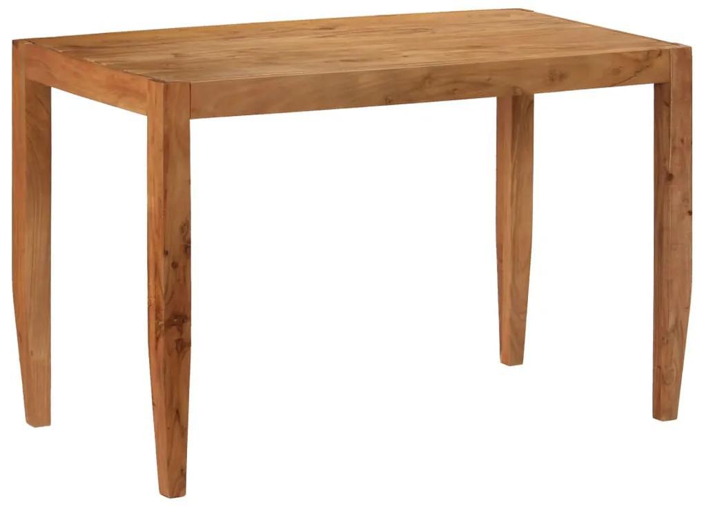 246141 vidaXL Masă de bucătărie, maro, 120x60x78 cm, lemn masiv de acacia